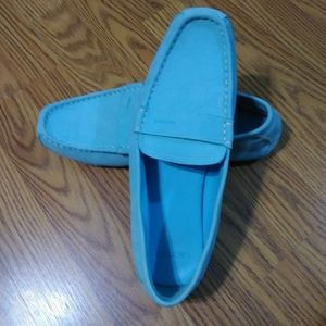 Baby Blue Men's LACOSTE Shoes